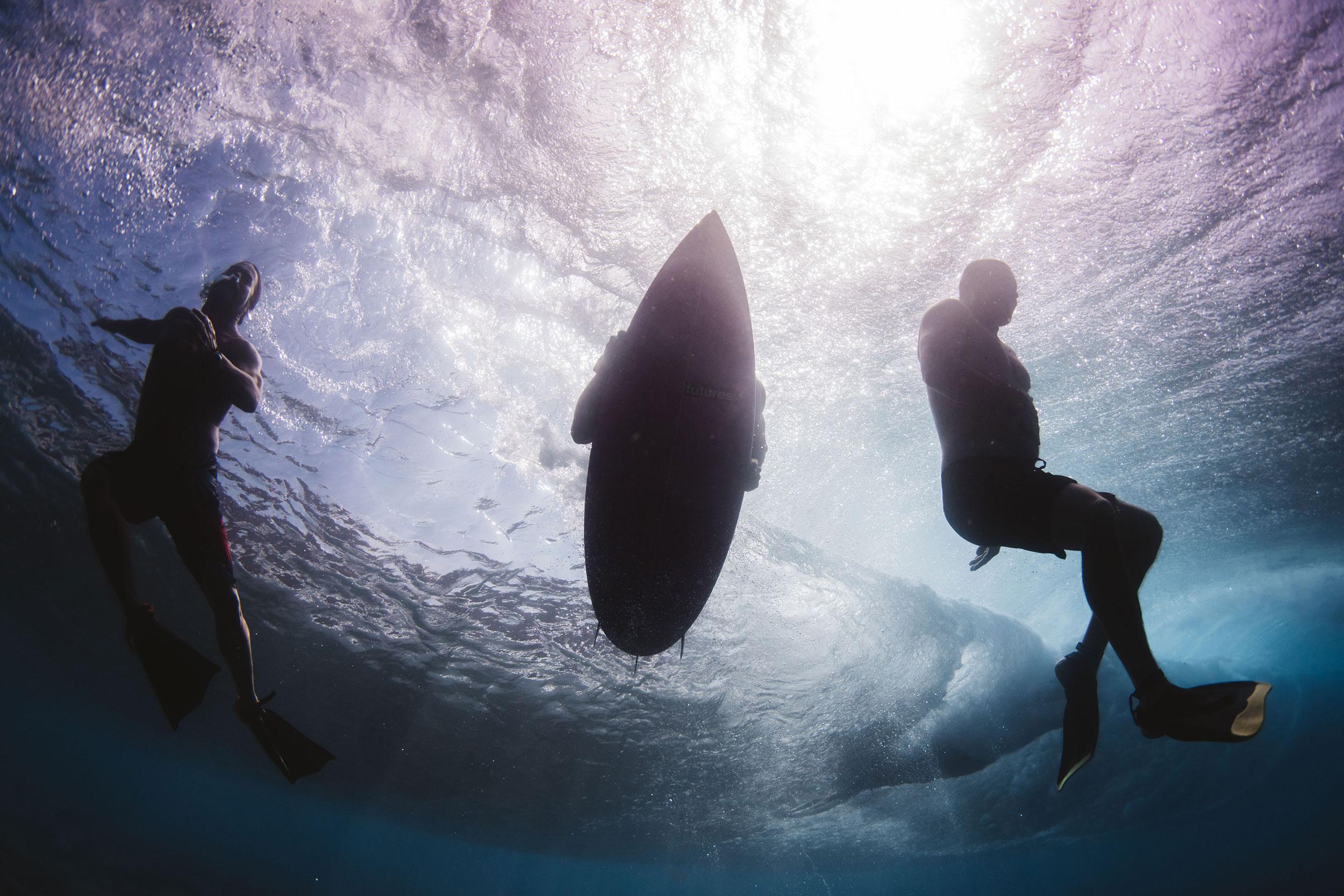 Underwater Hawaii - pipeline
