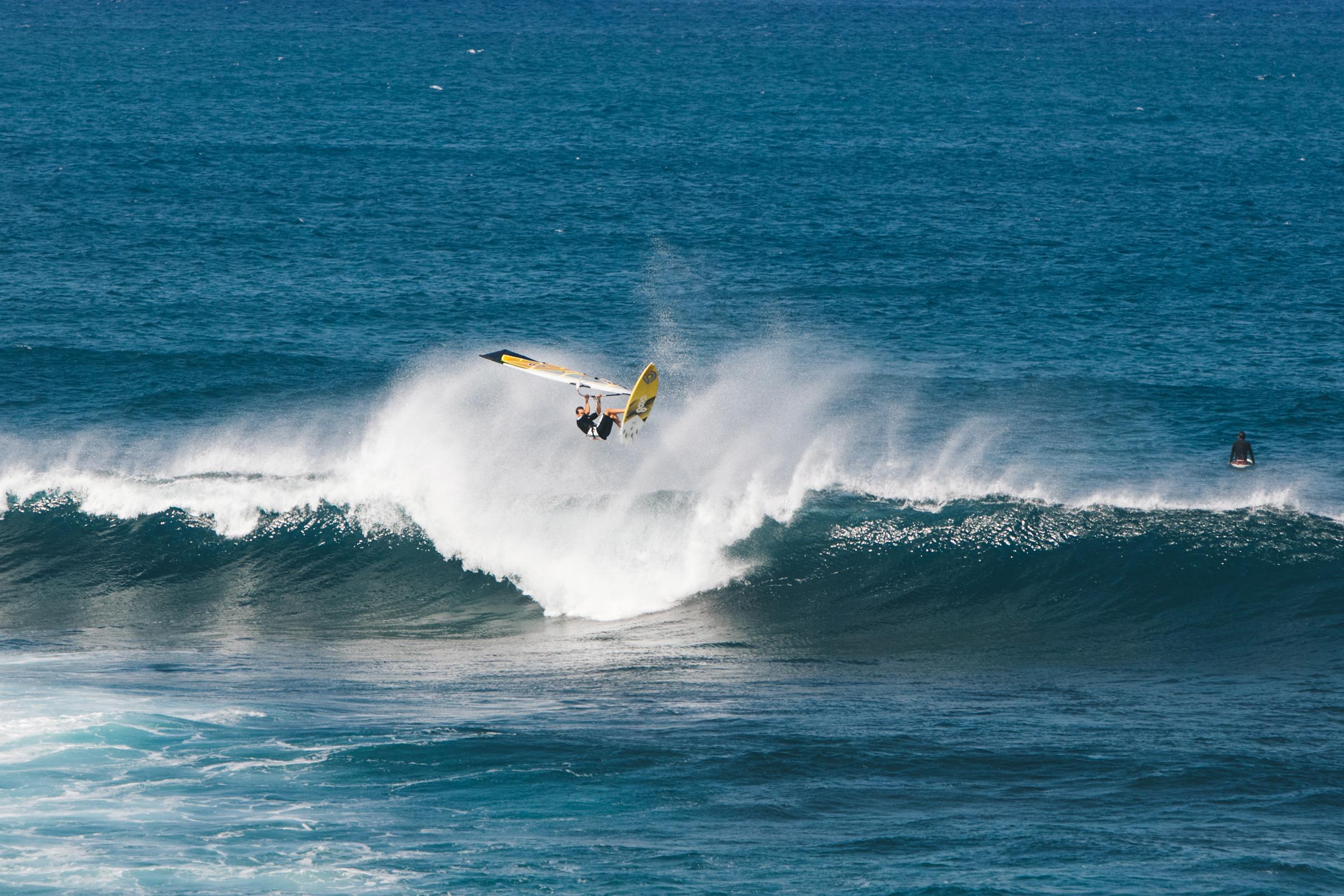 maui wind surfer
