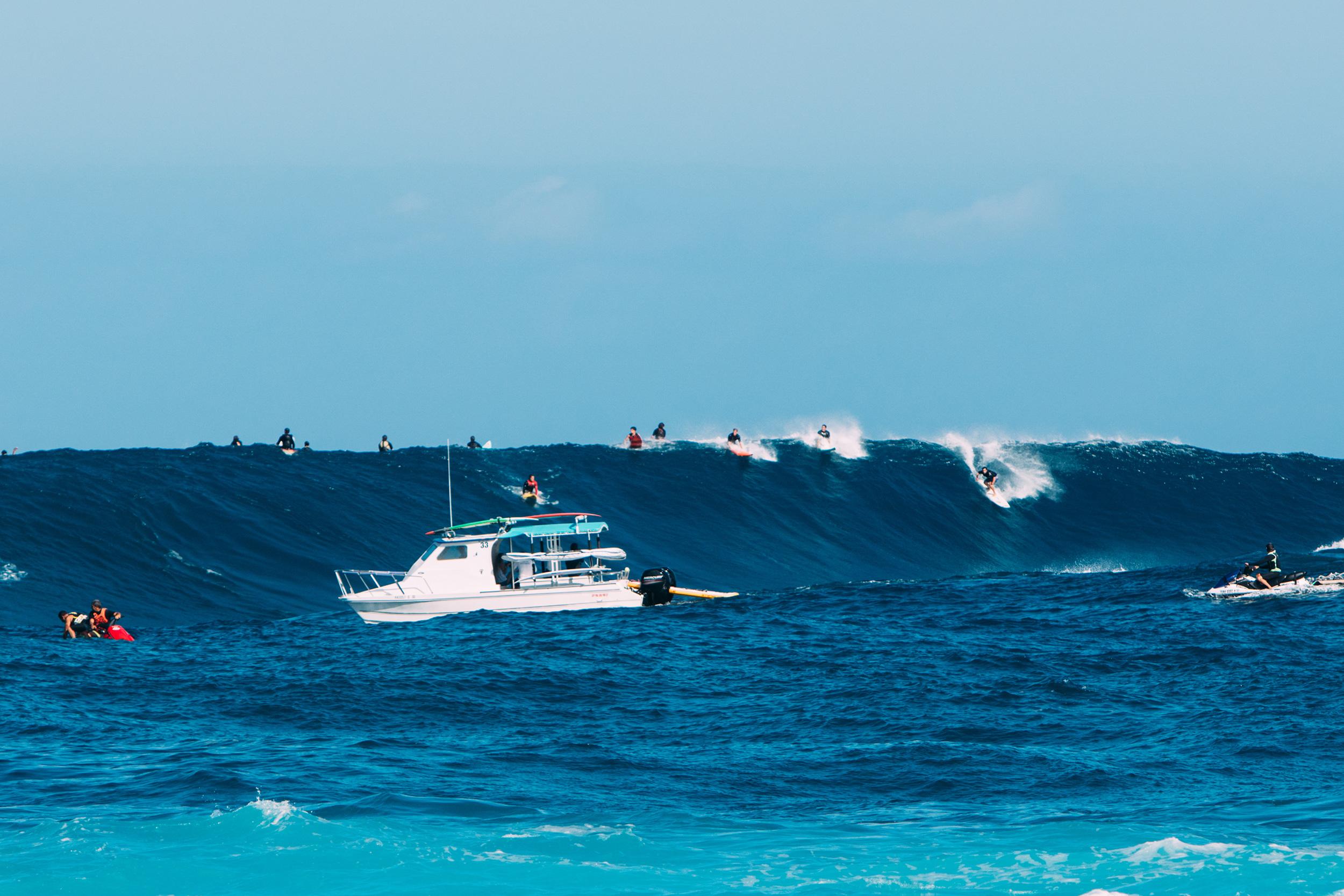 big wave maui jaws