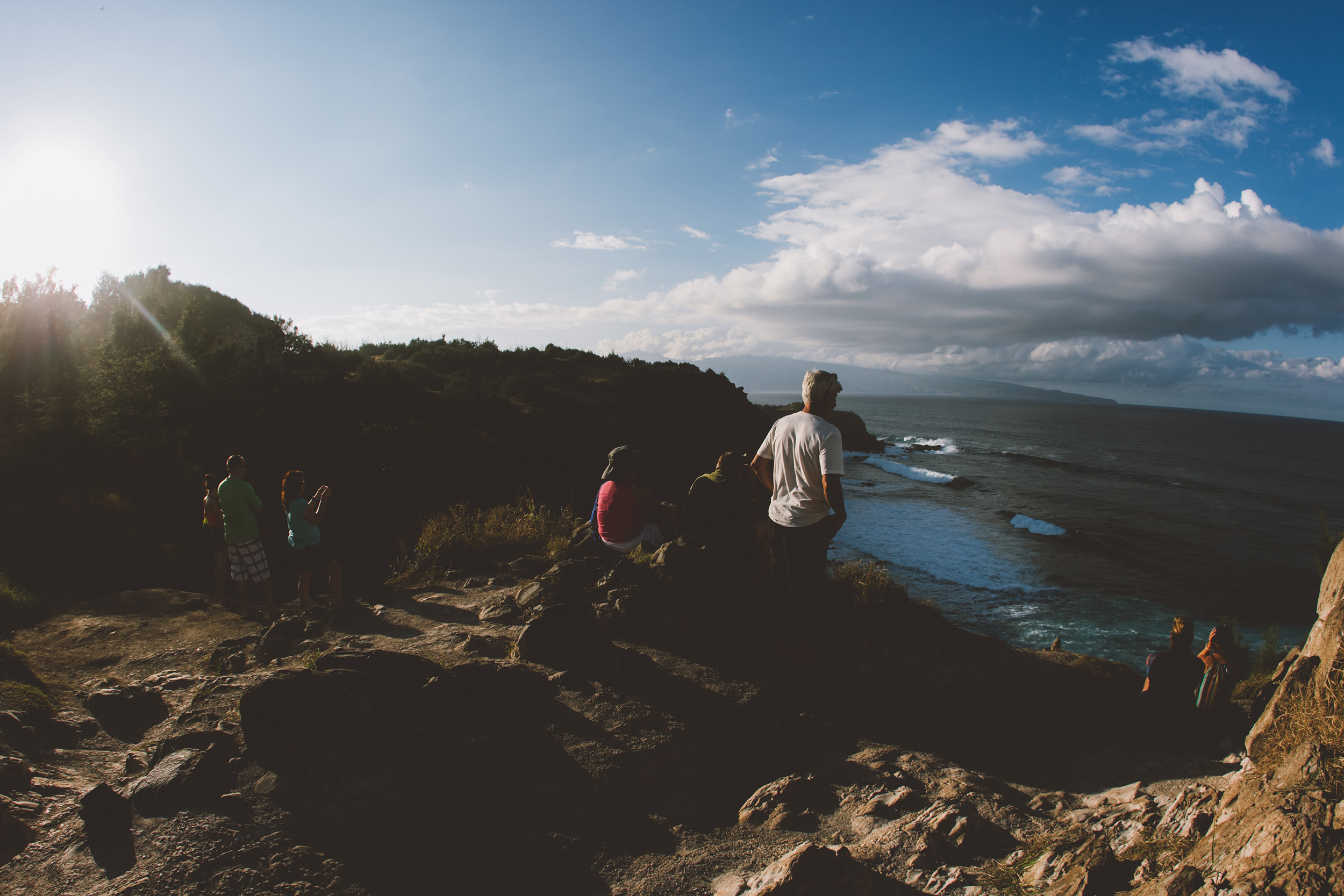 one of a set travelling around Maui one the Hawaiian islands road tripping photography of huge waves at Maui's famous Jaws    peahi big wave surfer dramatic coast line beautiful beaches on maui perfect waves freediving turtles living the wanderlust dream of travel and exploration    Haleakalā