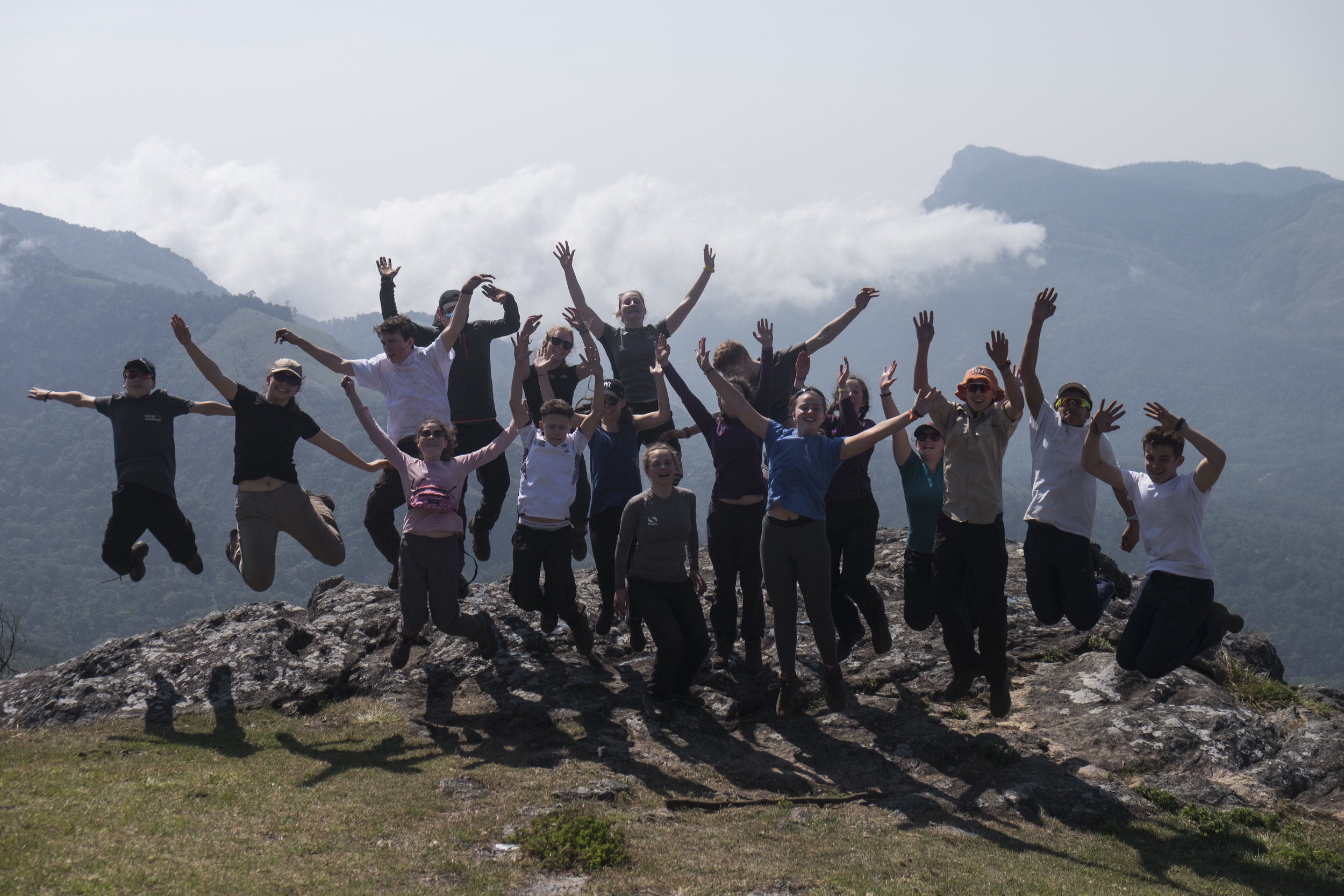 Classic jump shot with one of my expedition teams.