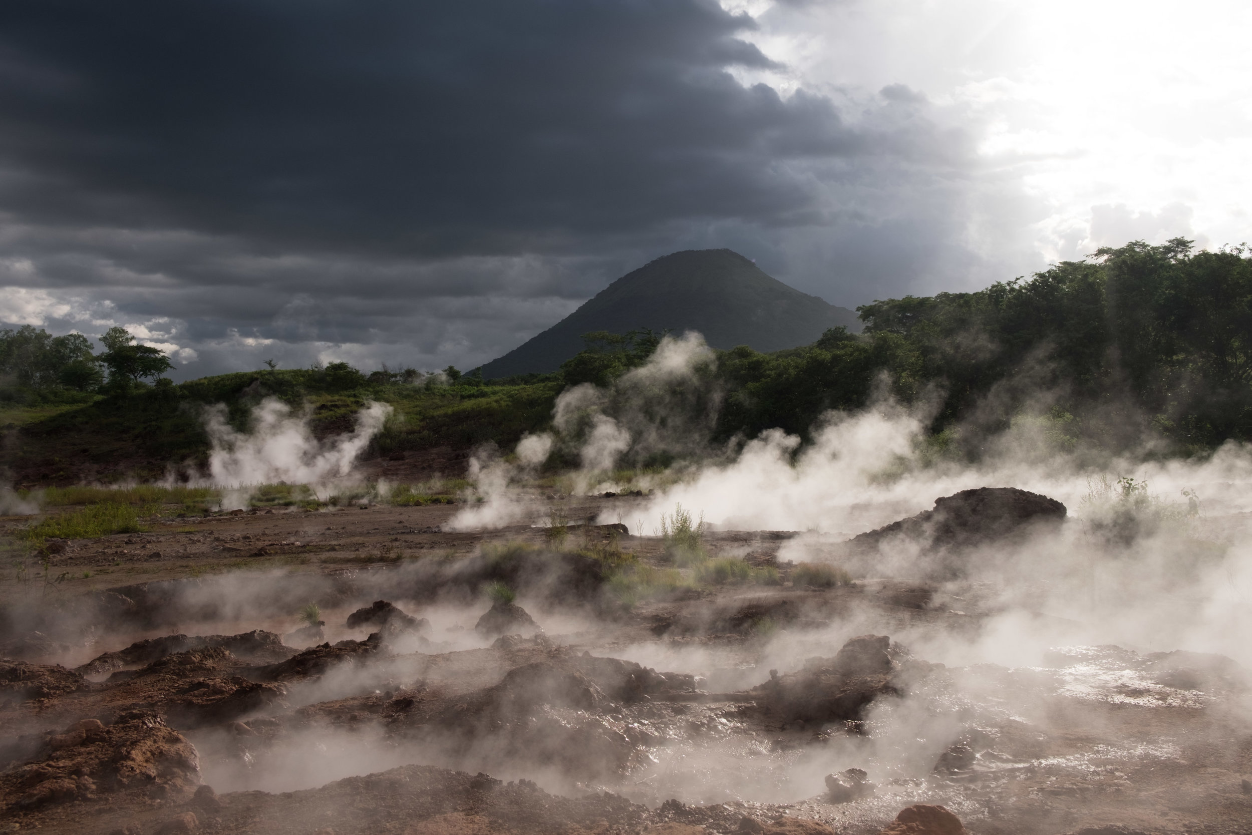 Santa Clara Volcano, Nicaragua.