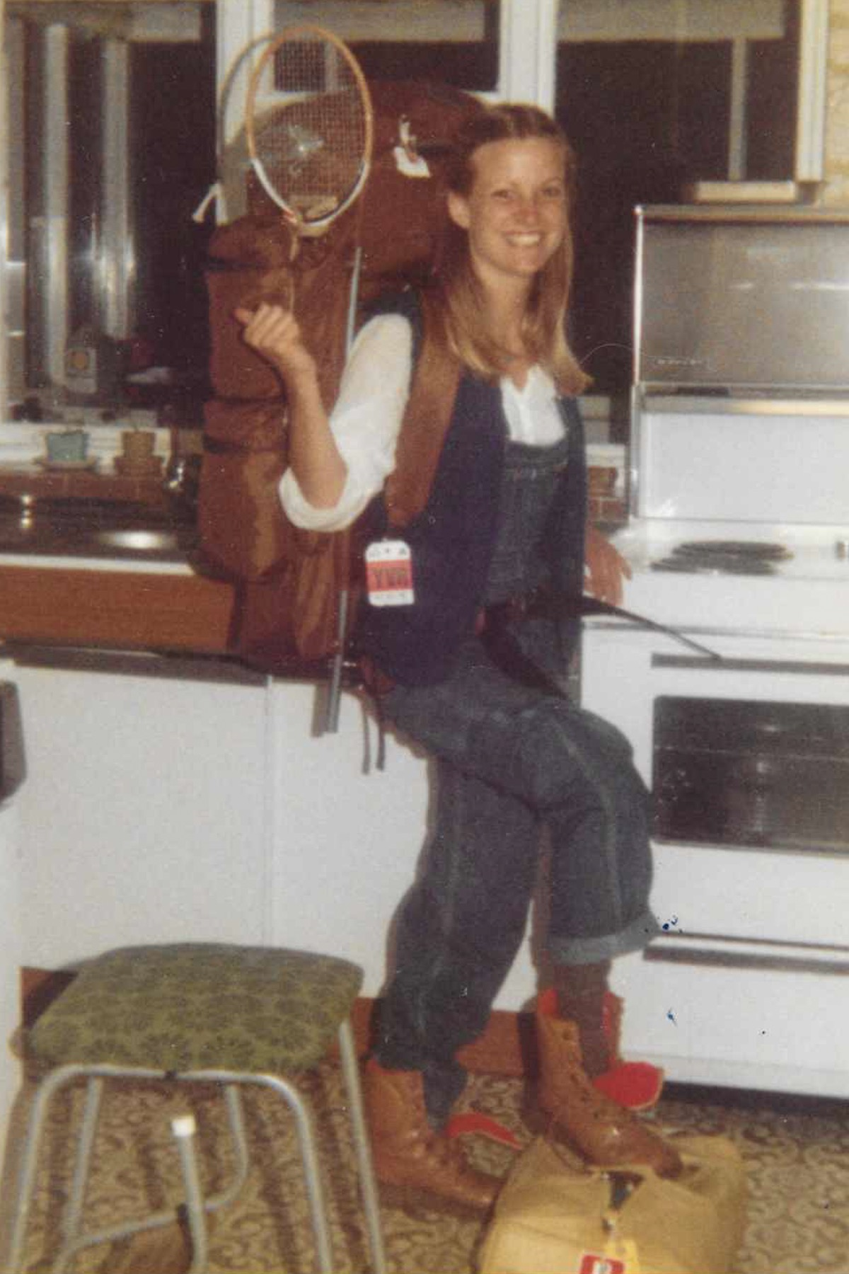 Mum after returning from Canada 1980.