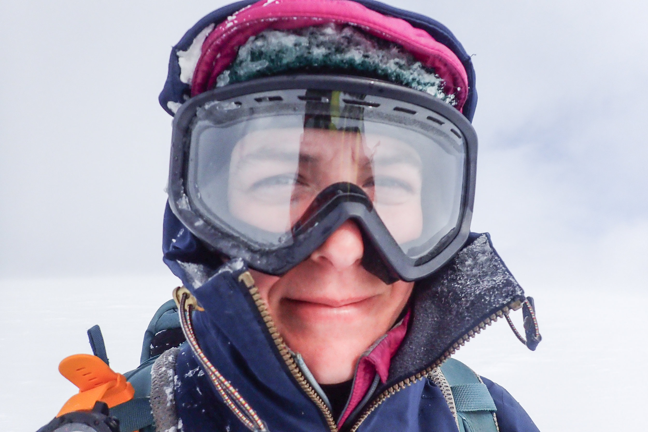 My face after some tough navigation across the Cairngorm Plateau in a whiteout back in March.