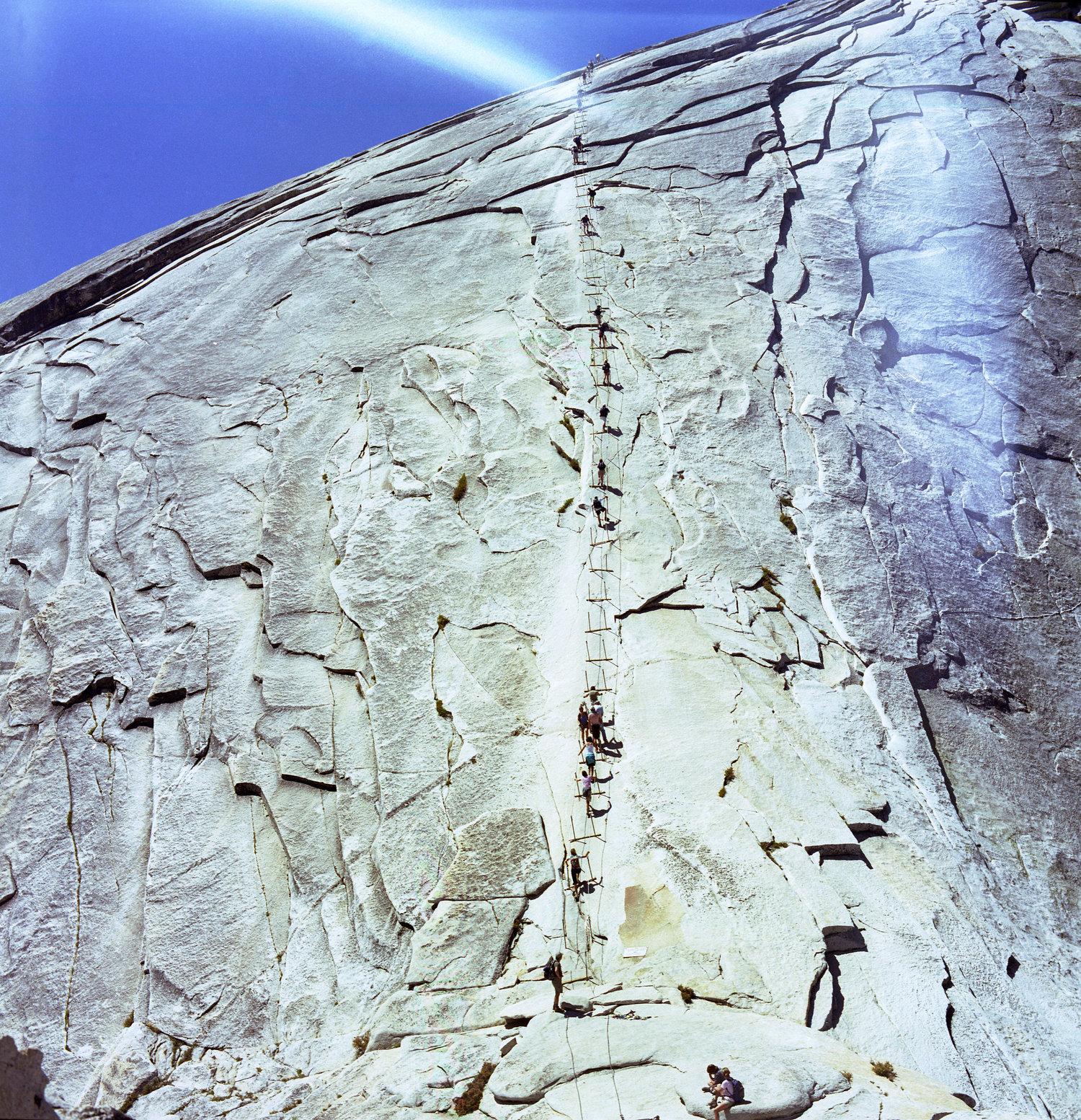 Half Dome, taken on my Medium Format Bronica Camera, 2008