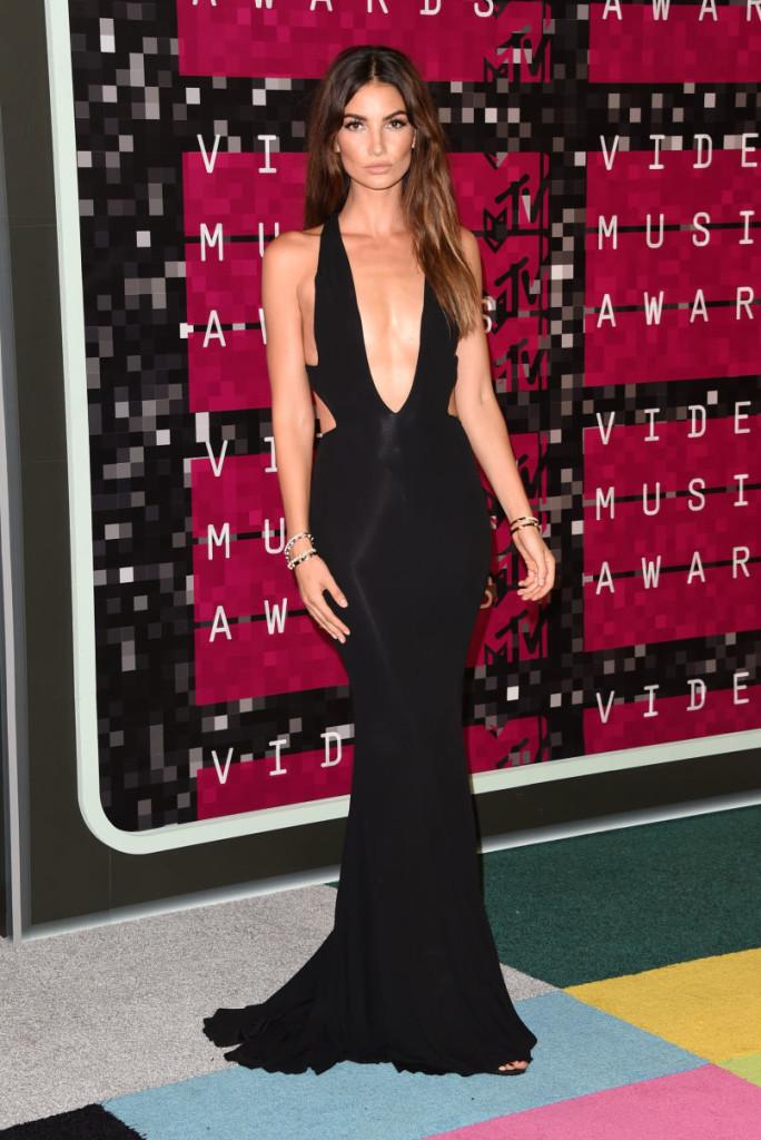 Lily Aldridge_Alexandre Vauthier Haute Couture_MTV VMAs