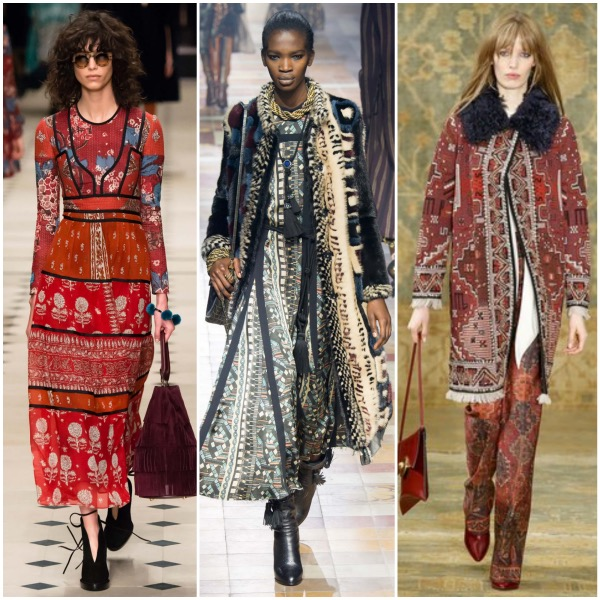 70s Fall trend collage