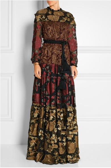 Lanvin Fall 2015 maxi dress