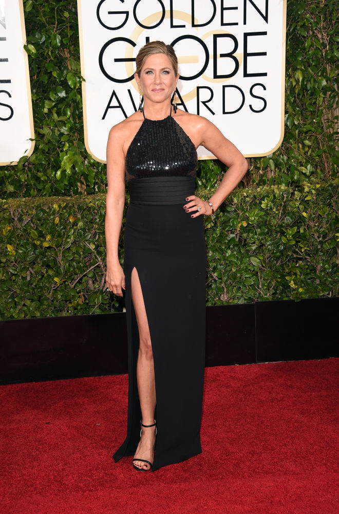 Jennifer Aniston Saint Laurent Golden Globes