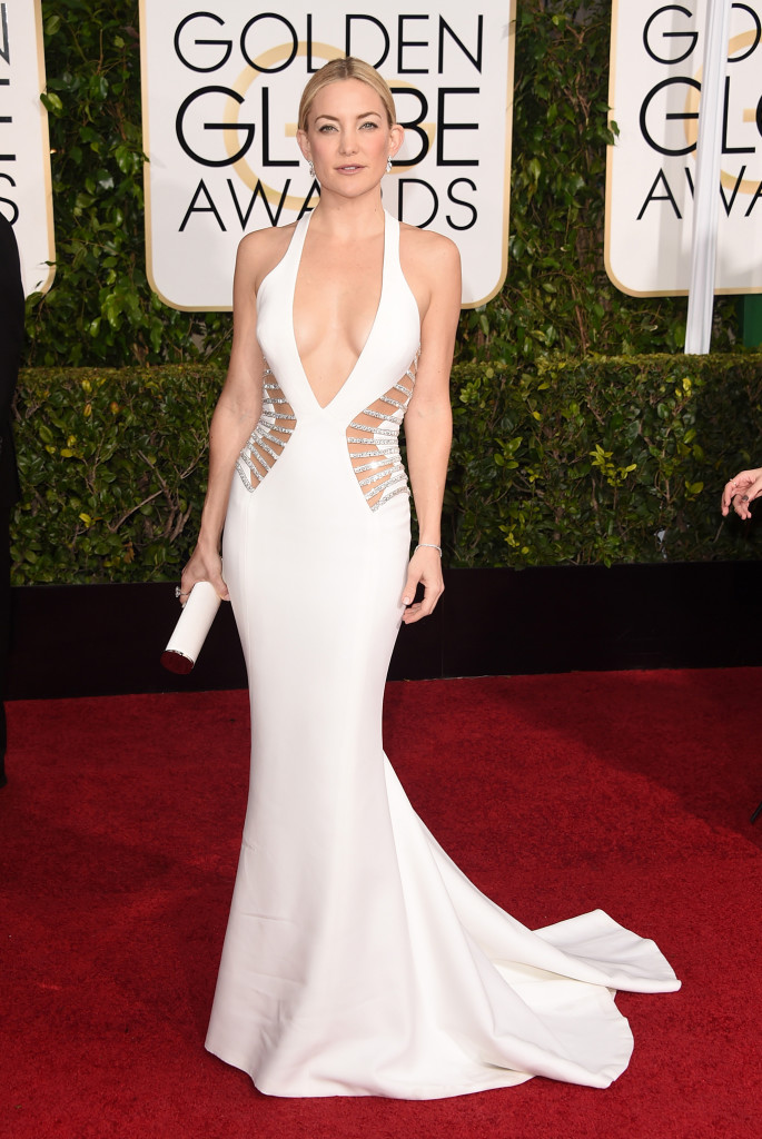 Kate Hudson Versace Golden Globes