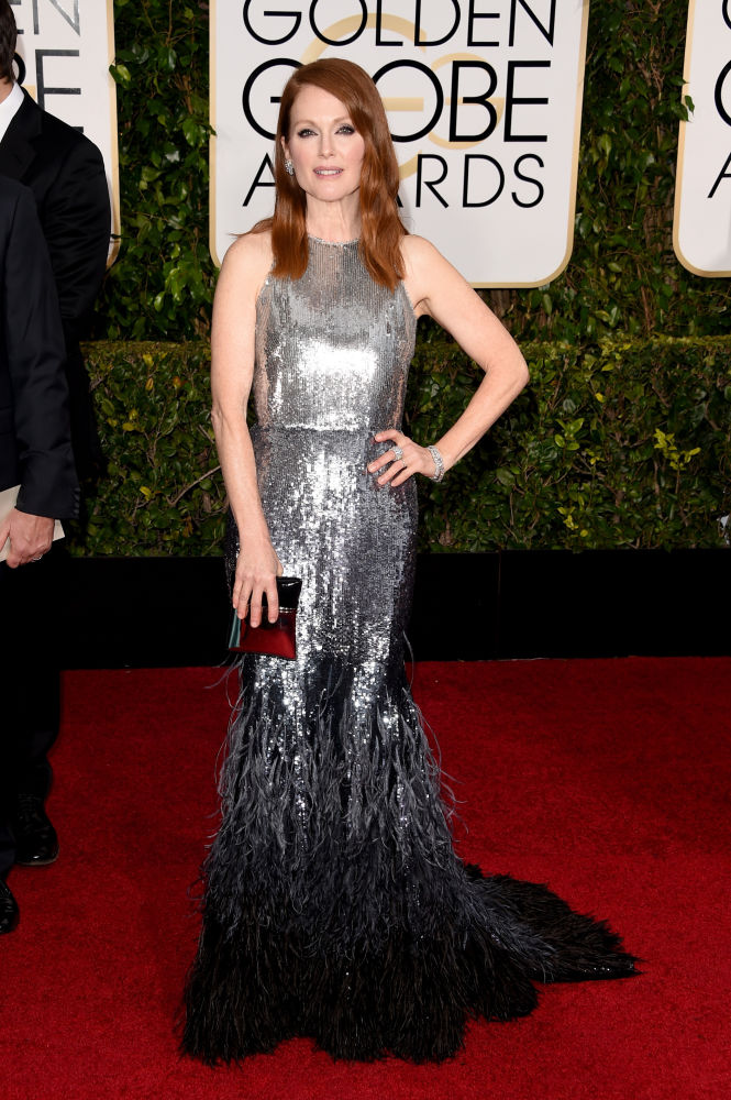 Julianne Moore Givechy Golden Globes