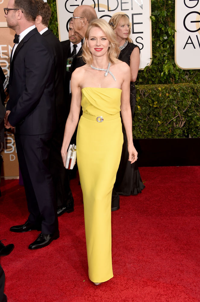 Naomi Watts Gucci Golden Globes