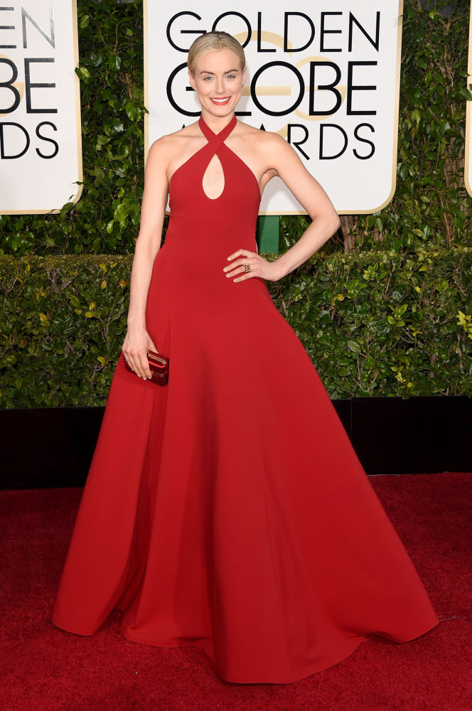 Taylor Schilling Ralph Lauren Golden Globes