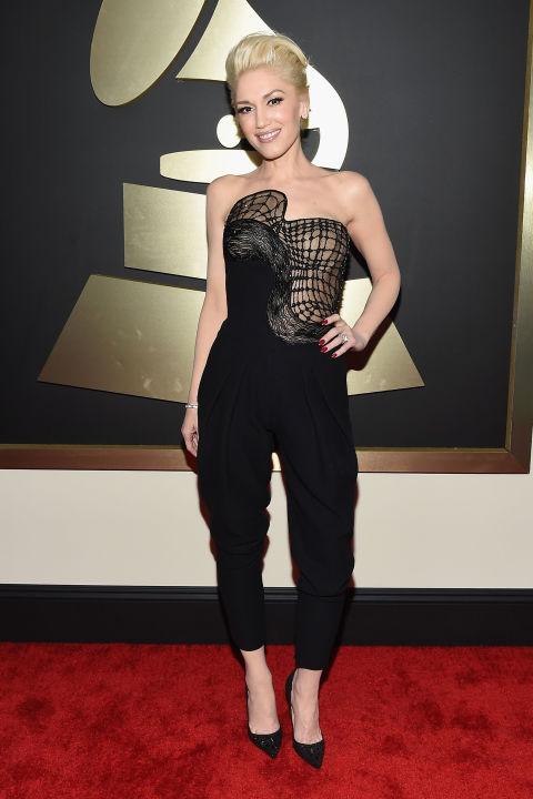 Gwen Stefani Grammys Versace