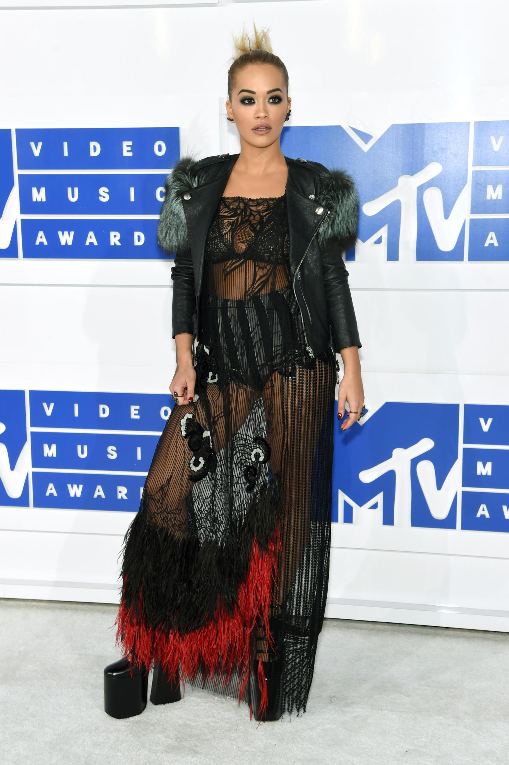 Rita Ora in Marc Jacobs
