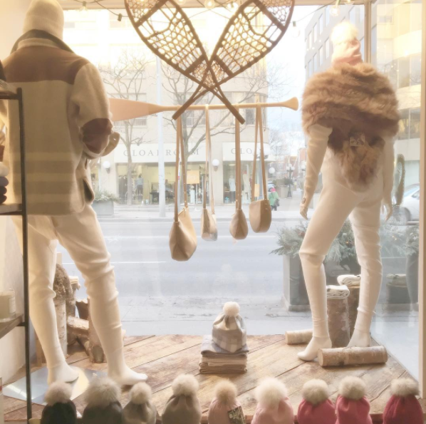 Window display at Tuck Shop Trading Co. Photo from @tuckshopoutpost.