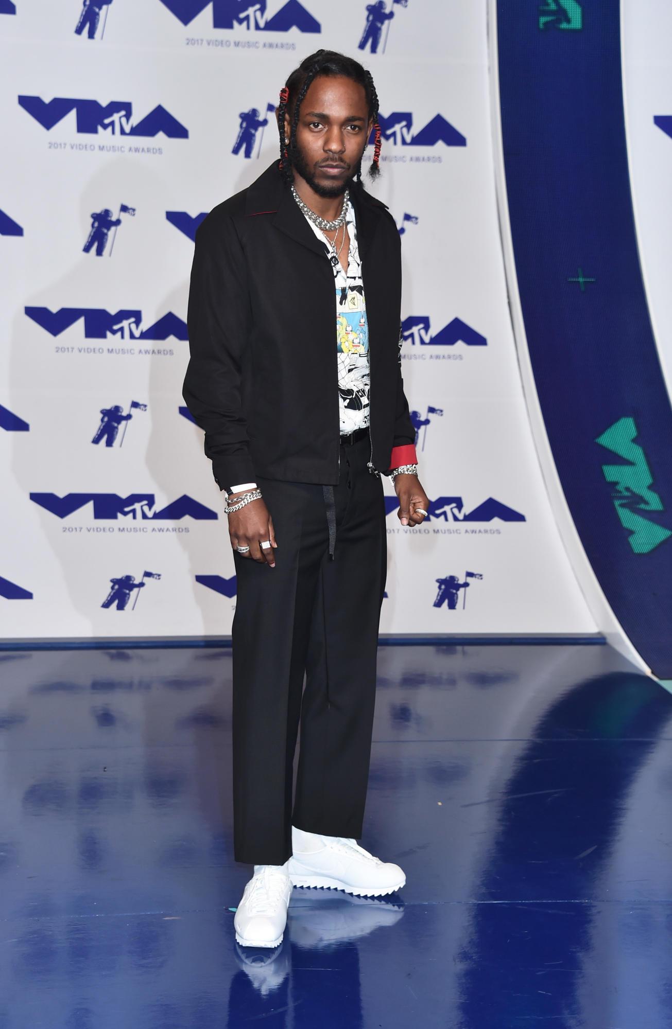 Kendrick Lamar in Prada