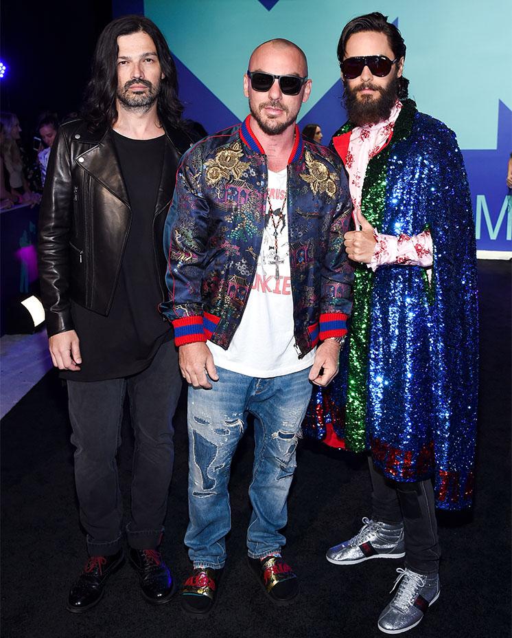 Jared Leto's Gucci cape
