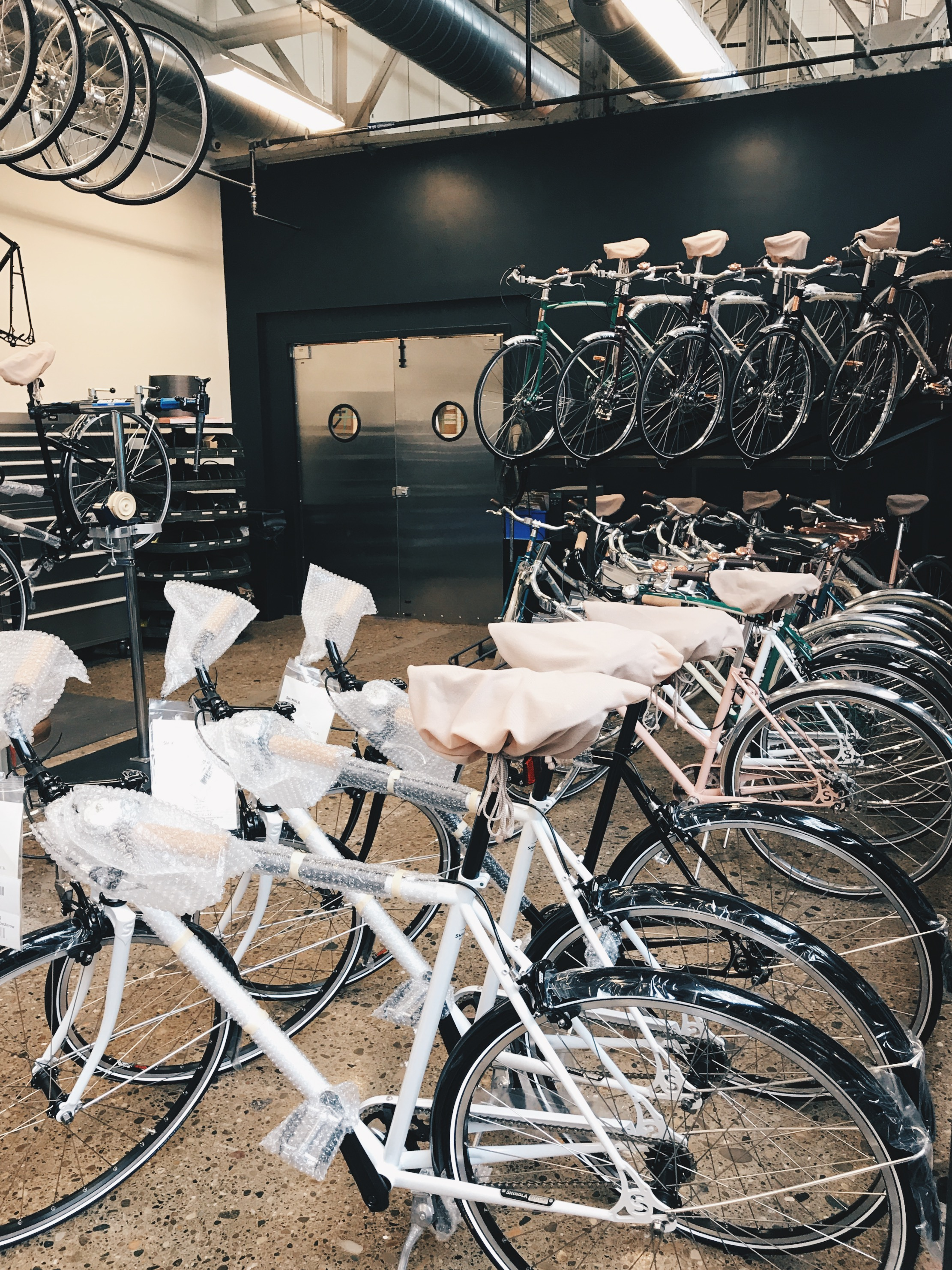 All Shinola bikes are custom made