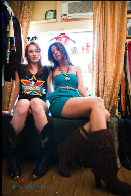 Tanya and Kim, the badass babes from Goodbuy Girls, were one of our first boutique spotlights in 2010 (Photo: Jessica McIntosh)