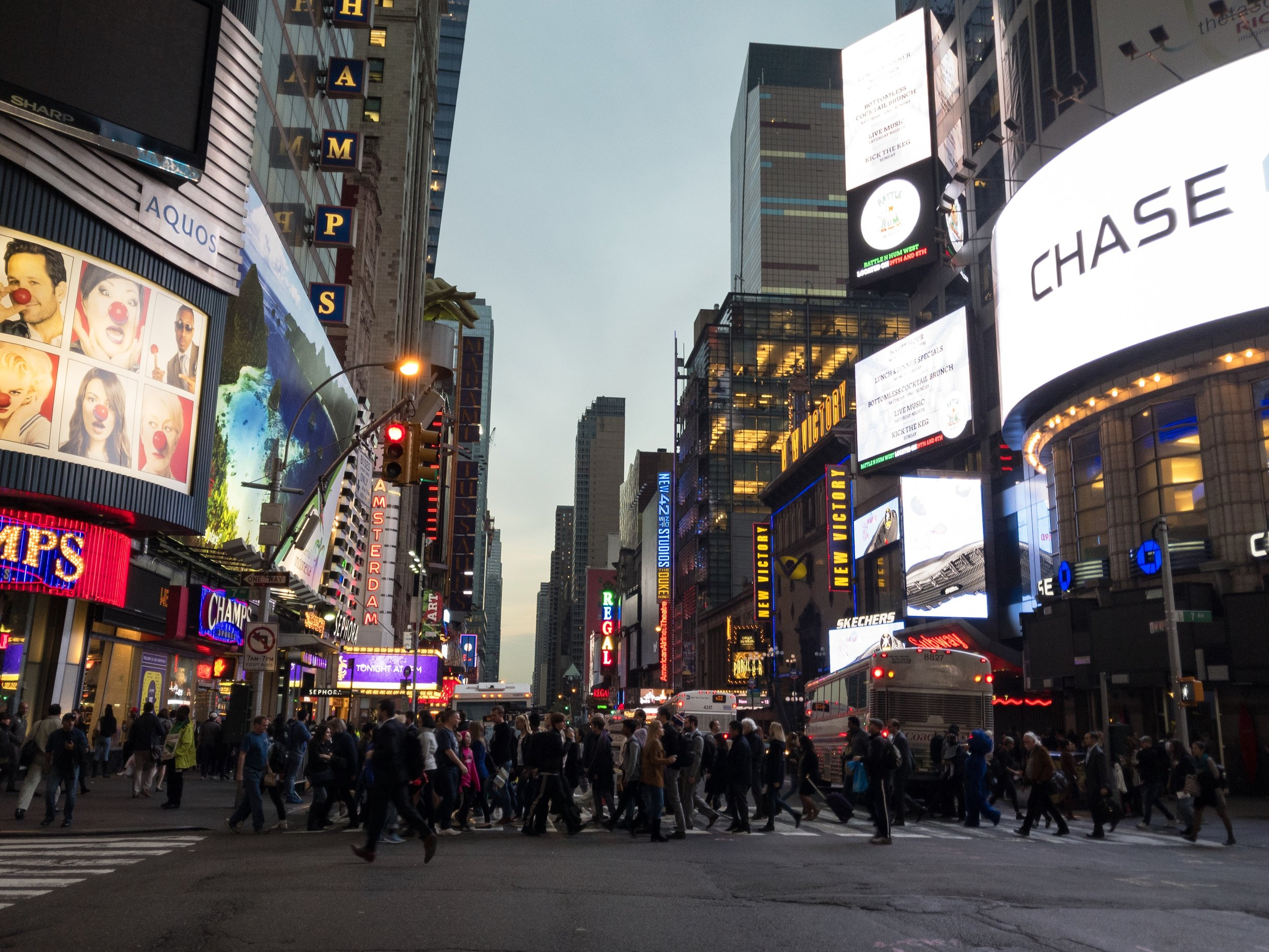 On 42nd Street (West)