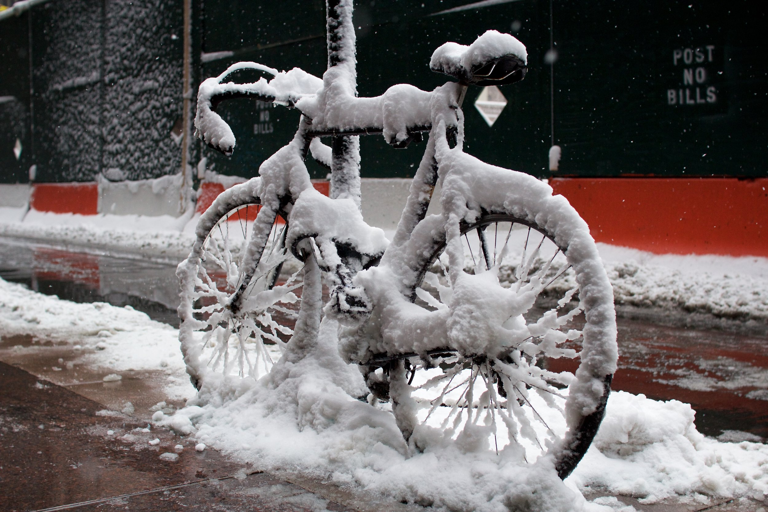 Frosted Bike