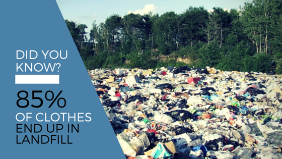 Textiles are the least recycled material
