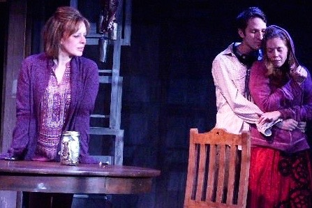 """As the mother of an autistic child, in """"On The Spectrum, at the fountain theatre."""