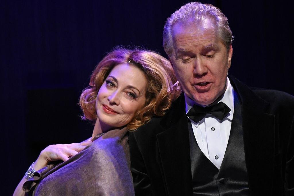 """sharon Lawrence & harry groener as Gertie & Noelie in """"love noel"""""""