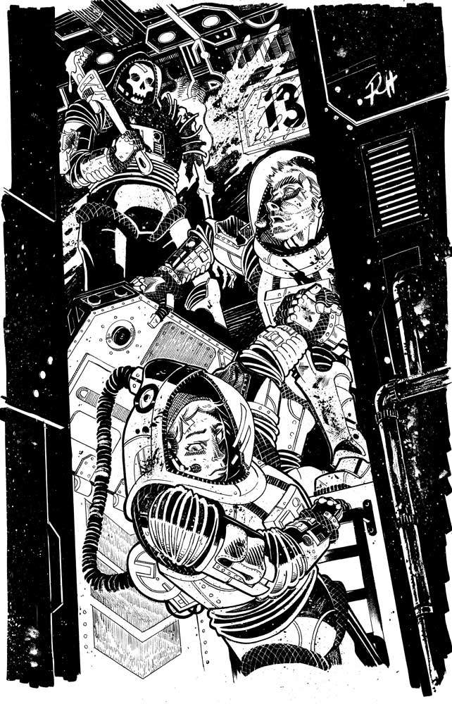 Comic-Book-Art-Inking-Space-Crew-Horror-Robin-Holstein.jpg