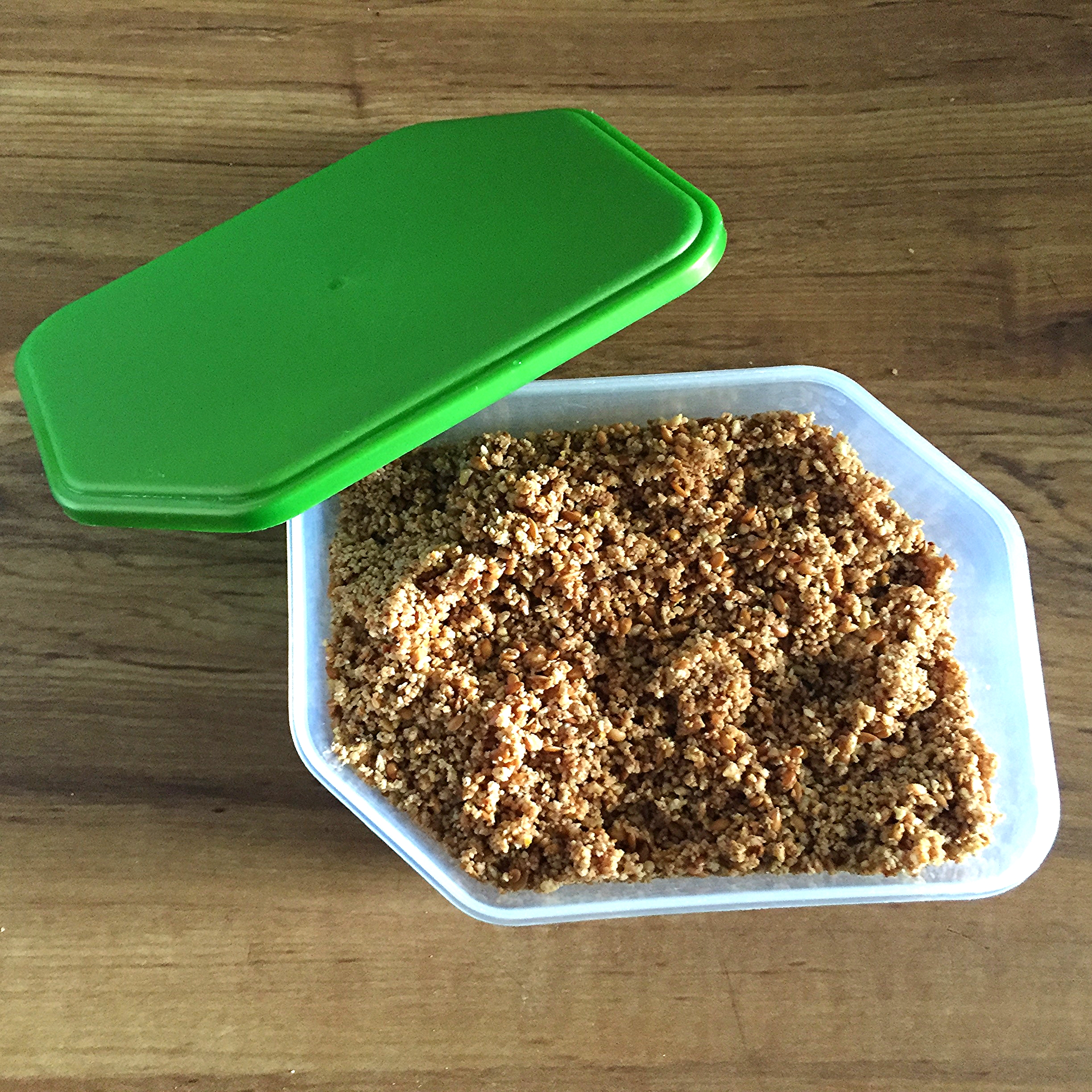 Sunflower-flax seed and almond mix