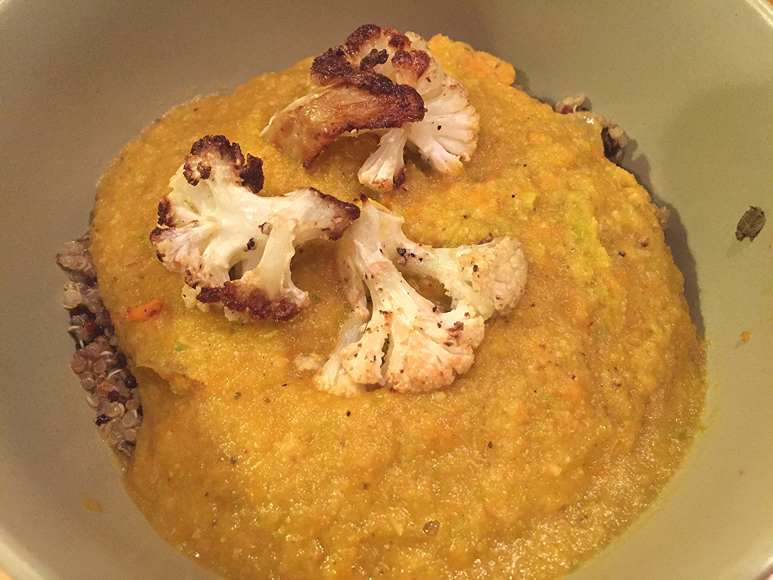 Roasted Cauliflower Soup - 2