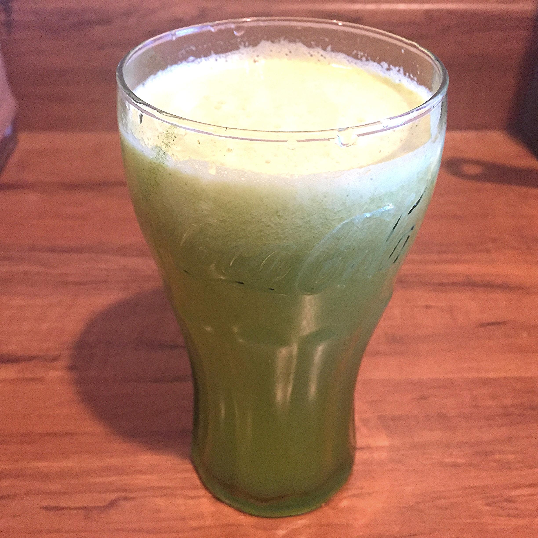 Pineapple, cucumber and celery juice