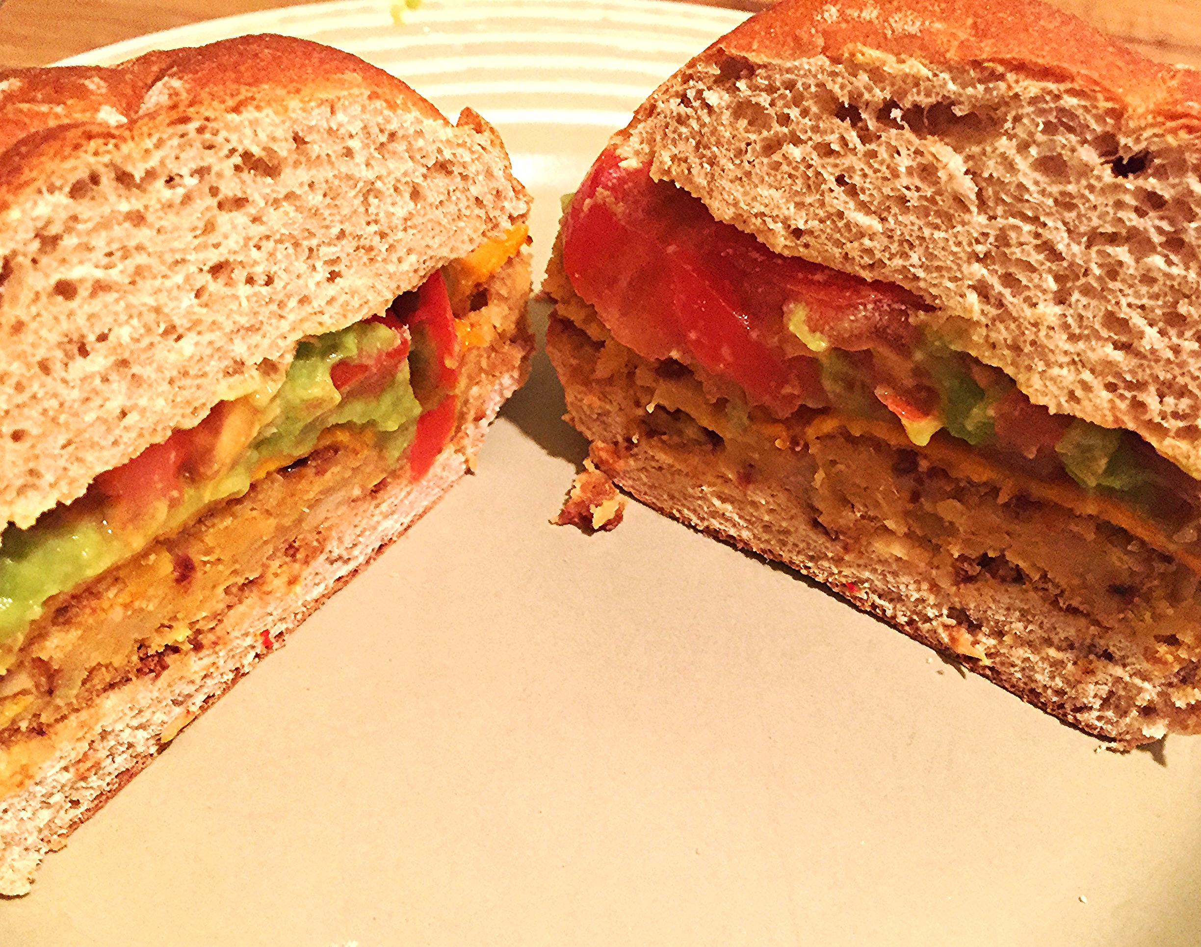 A vegan burger that will leave you satisfied, not in a food coma