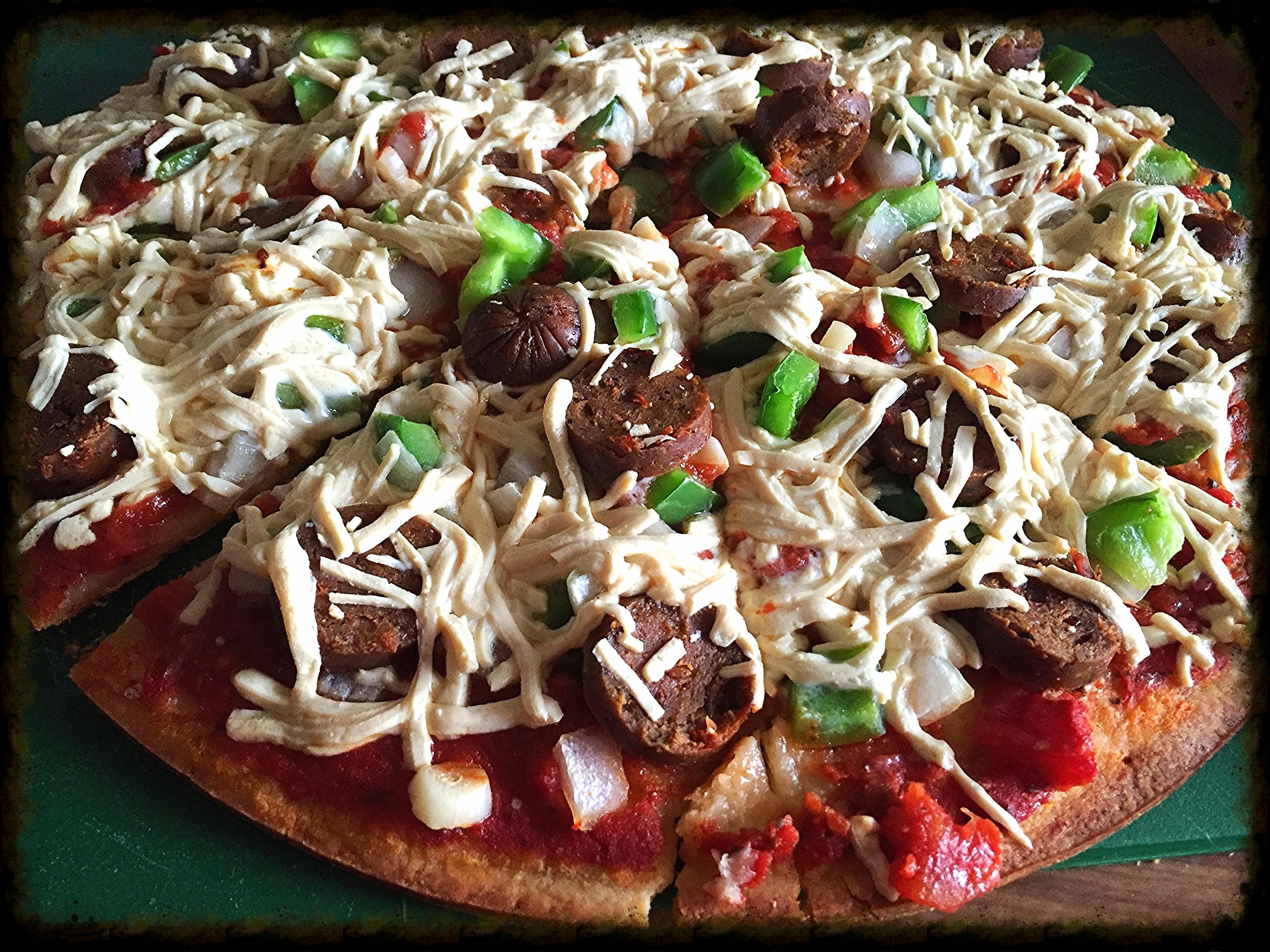 VeganHomemadePizza