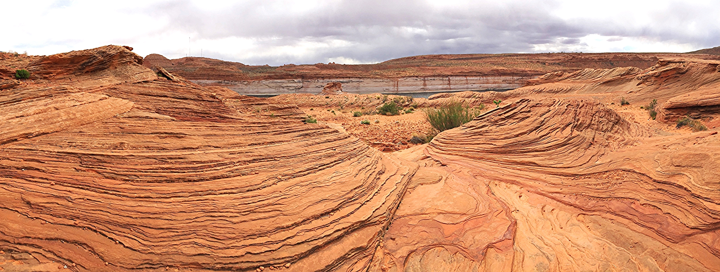 Overlooking Colorado River near Glen Canyon Dam