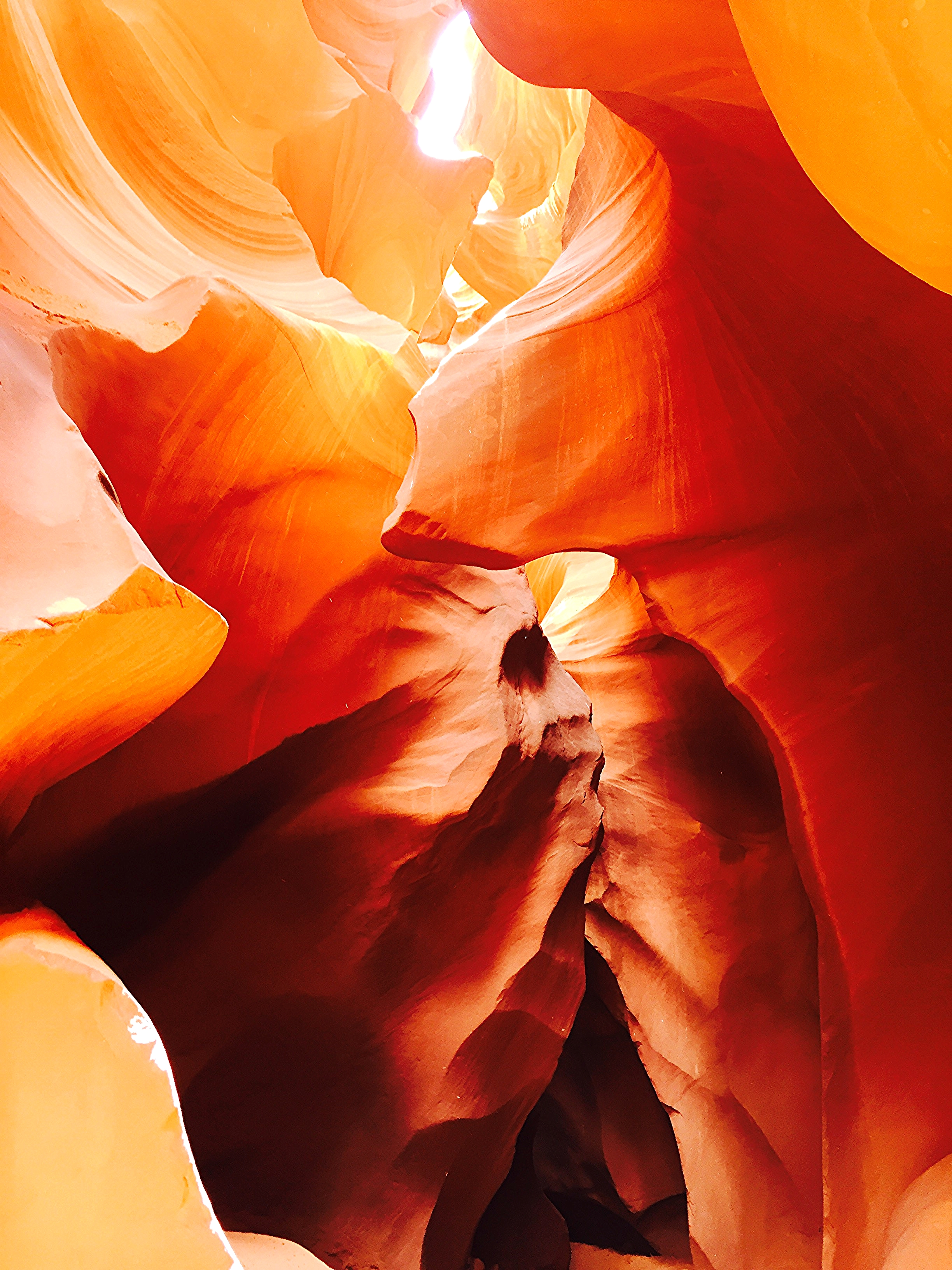 """Native American Chief"" in Lower Antelope Canyon"