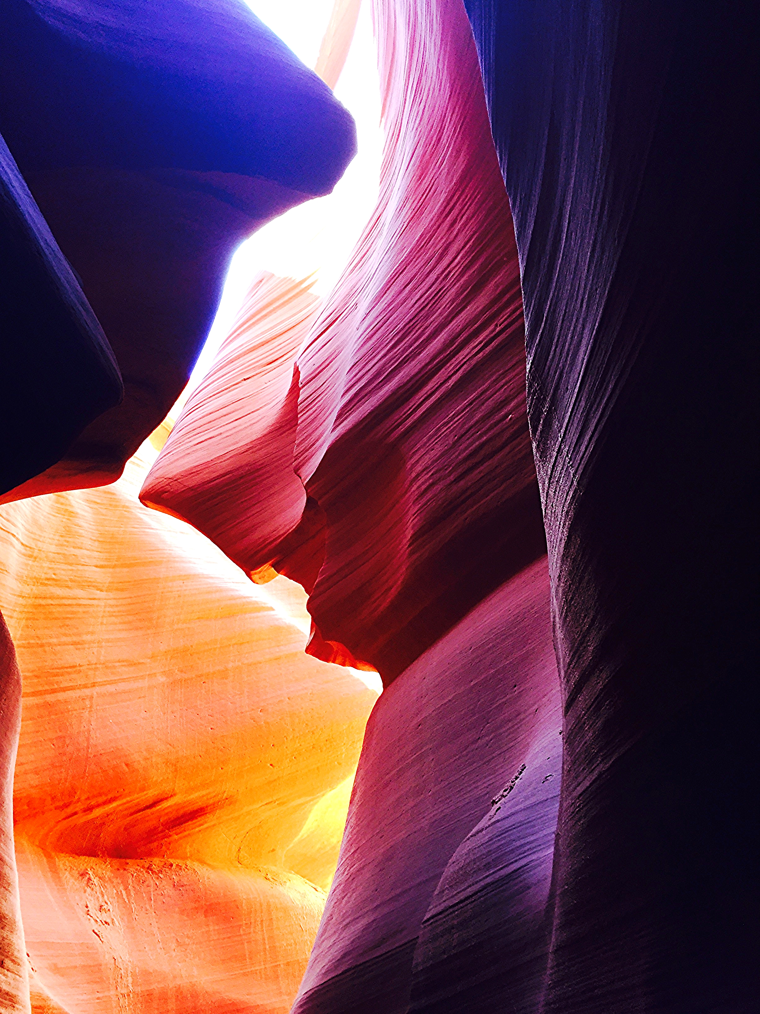"""Finding Nemo Shark"" in Lower Antelope Canyon"