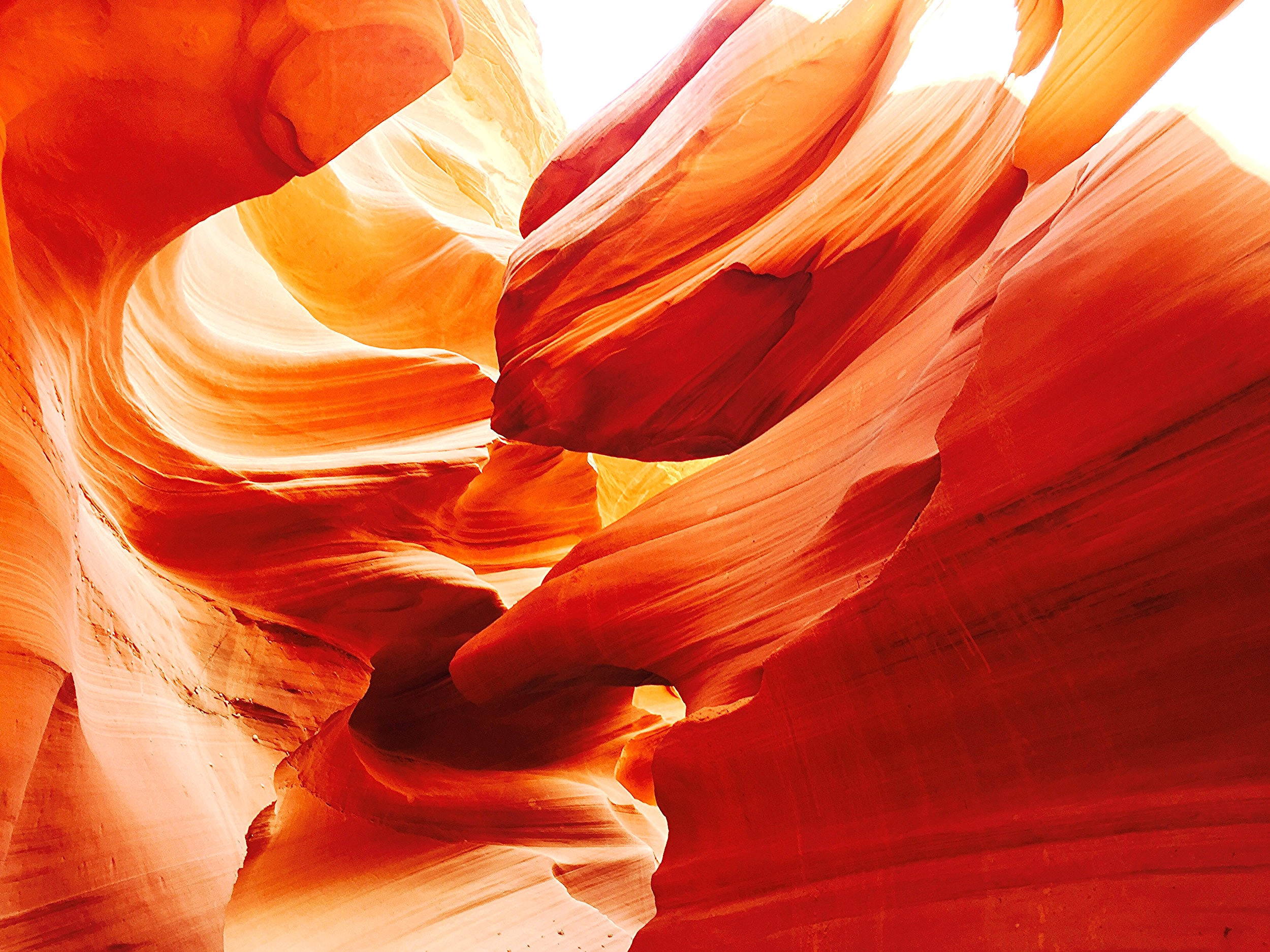 Swirls abound in Lower Antelope Canyon