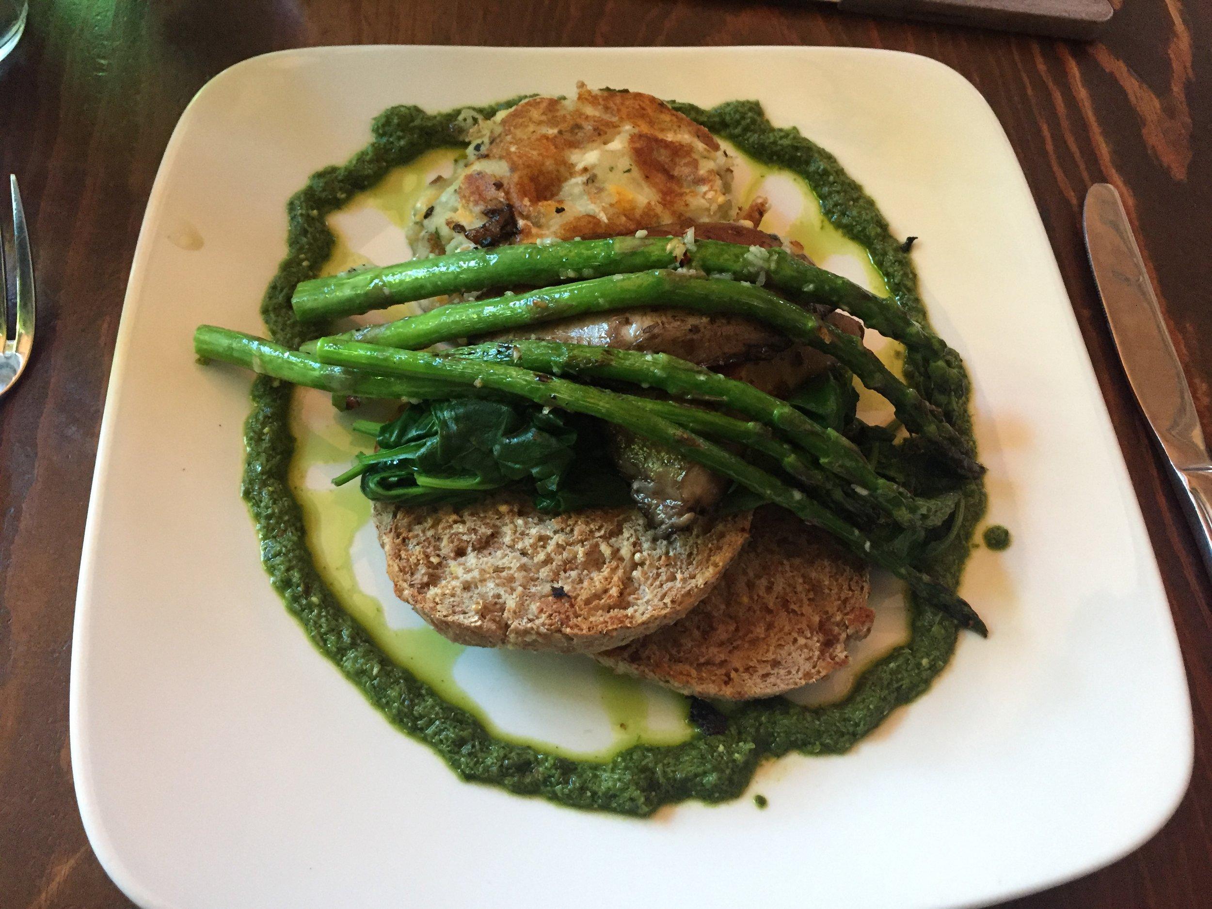 Veggie Slam from Plum Bistro vegan restaurant