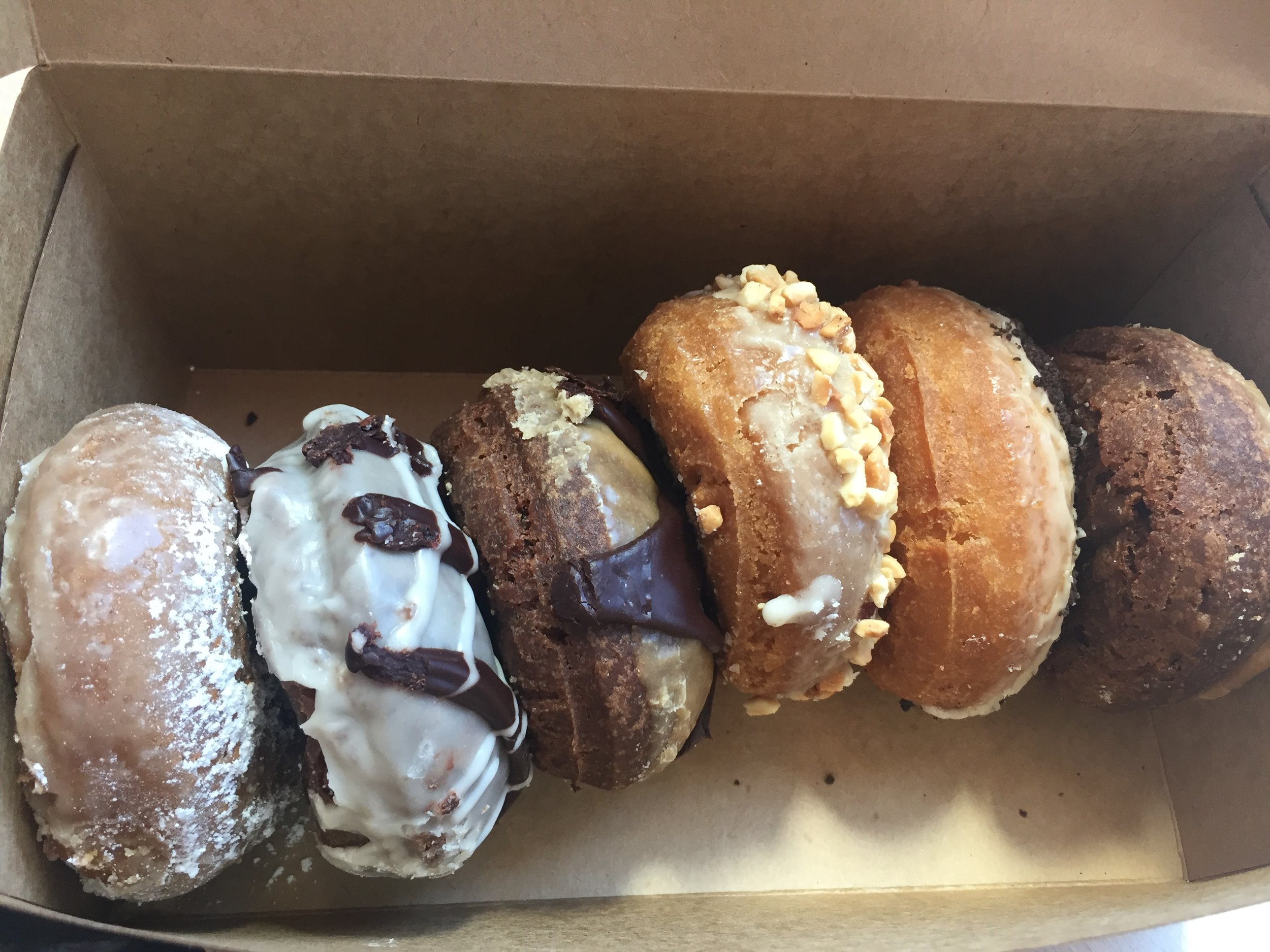 Vegan donuts from Mighty-O Donuts