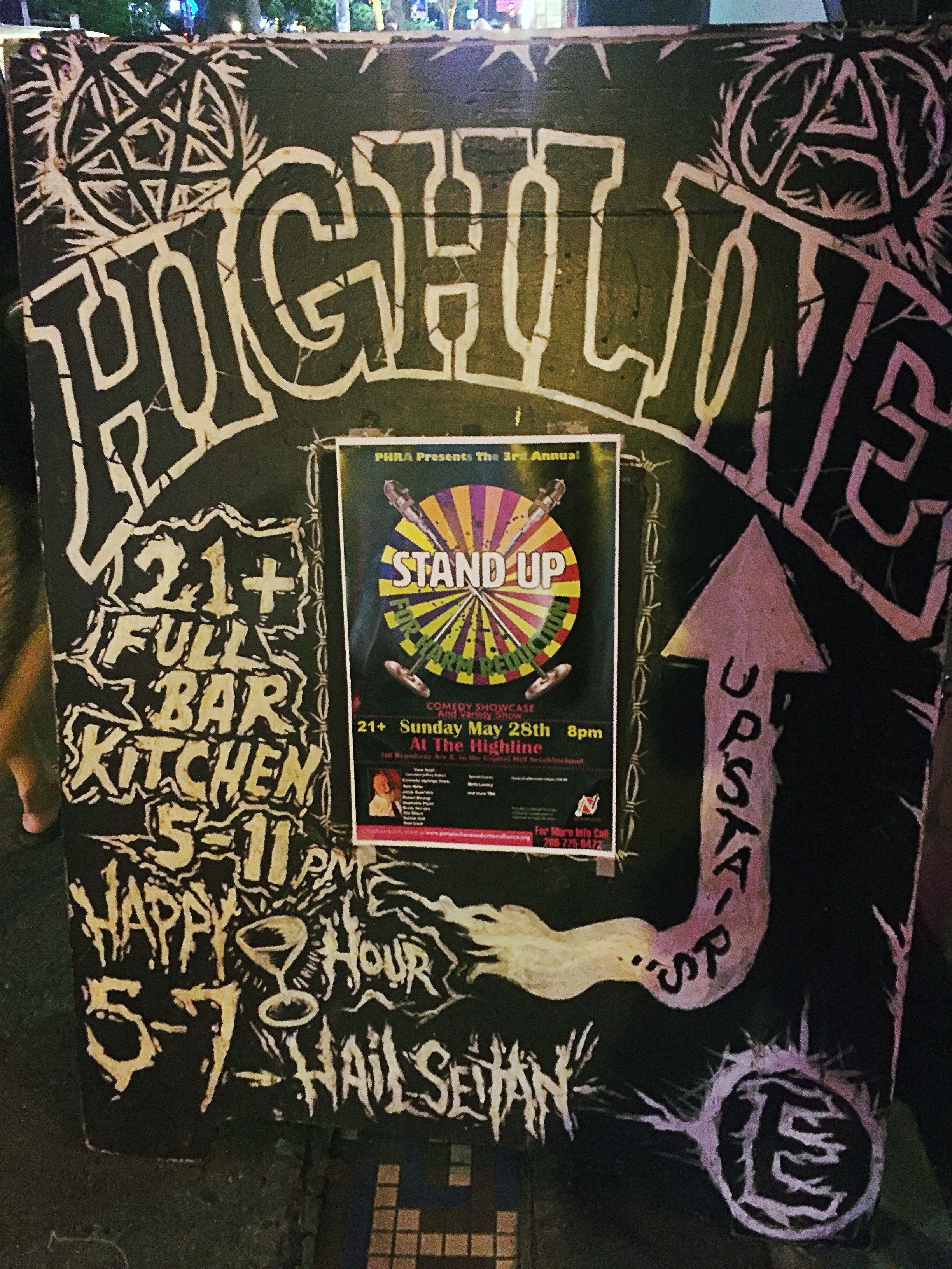 Highline Bar in Seattle, Washington's Capitol Hill neighborhood