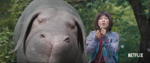 Okja movie screenshot