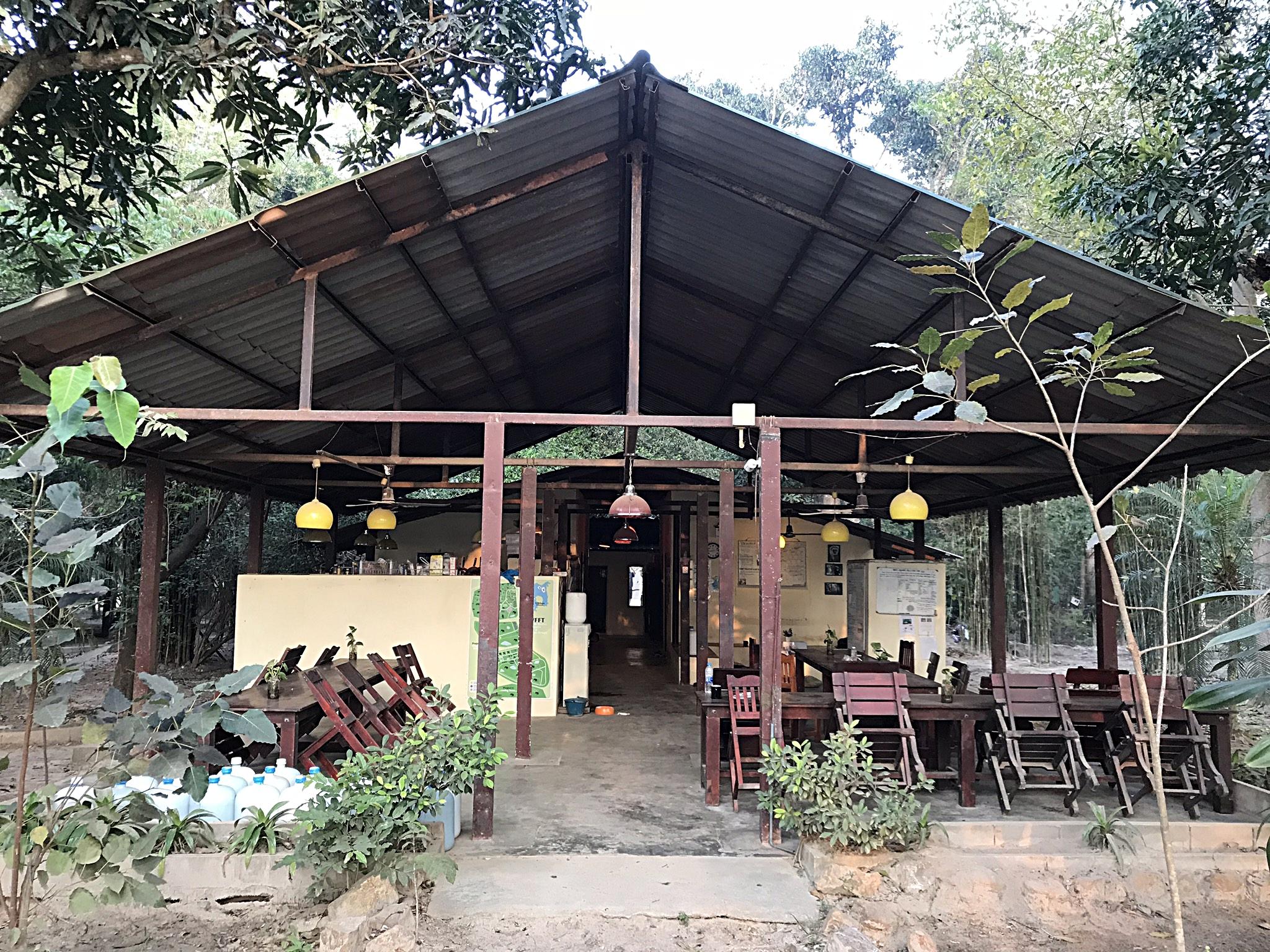 Volunteer house at WFFT