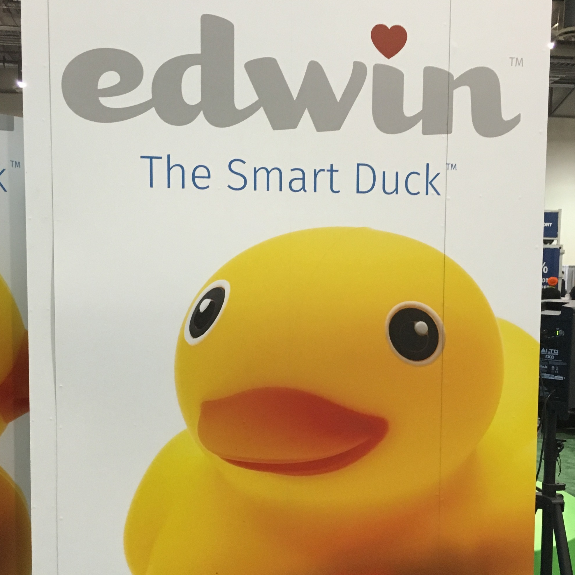 Let's just get this out of the way: We've done it folks. The smart rubber duck is here. We can all go home. Moore's law has met its end.