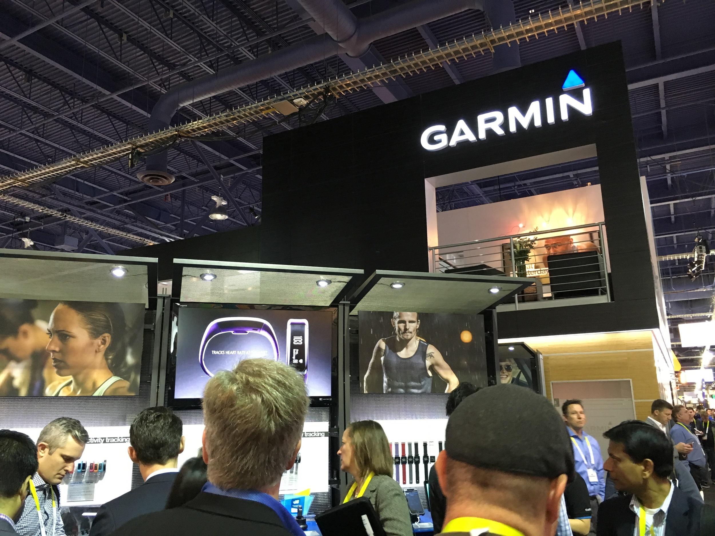Garmin Showing off More than GPS
