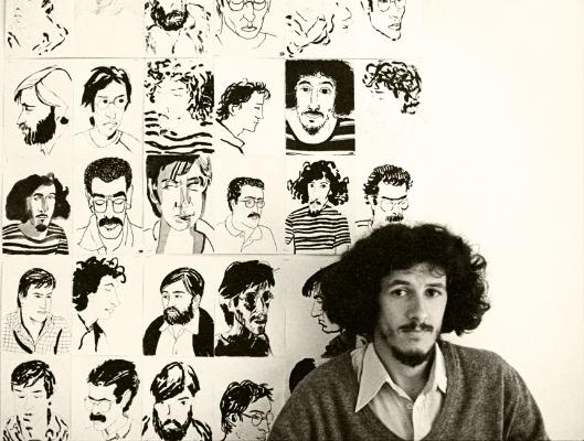 Luís Barreira  Pedro Cavalheiro (ESBAL), 1982  Fotografia  Gelatin-Silver Print