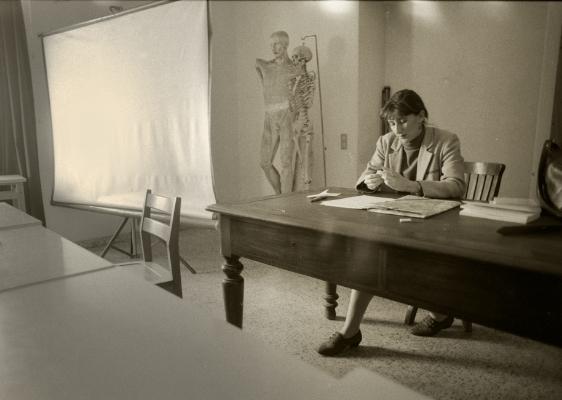 Luís Barreira  Isabel Sabino (Professora na ESBAL), 1988  Fotografia  Gelatin-Silver Print