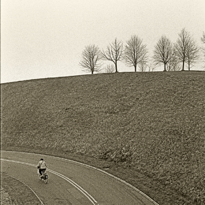 Luís Barreira  road, York, 1986  Fotografia  Gelatin-Silver Print