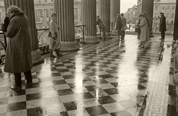 Luís Barreira  The National Gallery, London, 1987  Fotografia  Gelatin-Silver Print